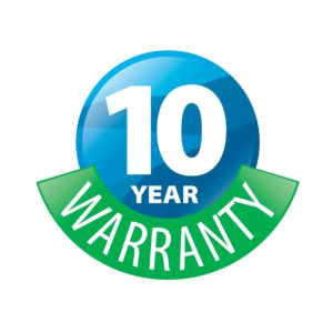 10 year warranty to Replace the HVAC